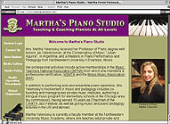 Martha's Piano Studio